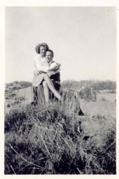 jill's grandparents hugging