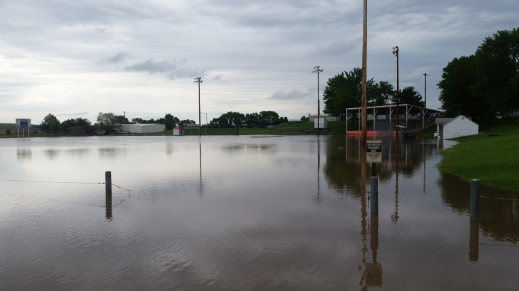 ball field 2015 flooding view from northwest